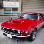 1969y FORD MUSTANG、1969y フォードマスタング