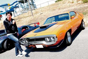 シンジさん PLYMOUTH ROAD RUNNER