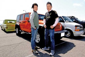 祥3 &滉3 さん Jeep WRANGLER UNLIMITED