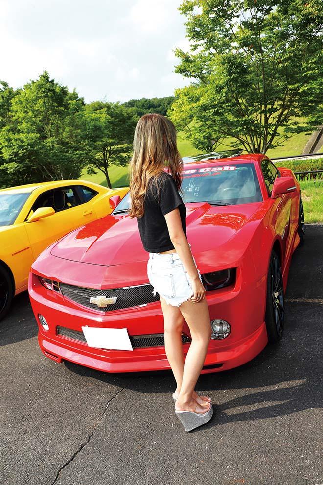 アメ車に乗る女性だけのアメ車女子ミーティング