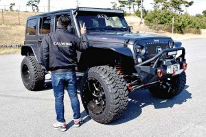 川合さん JEEP WRANGLER UNLIMITED