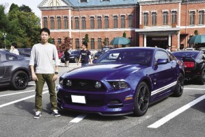 2013 FORD MUSTANG 山本恵太さん