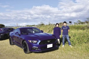 2015 FORD MUSTANG snoopyさん