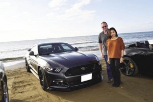 2015 FORD MUSTANG ジェフリー&優子さん