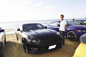 2015 FORD MUSTANG あきさん