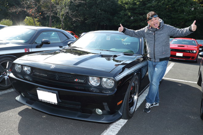 トシやんさん DODGE CHALLENGER RT
