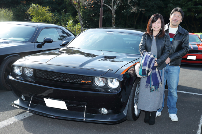 丸山政成さん DODGE CHALLENGER SRT8
