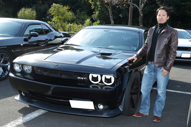 K 仙人さん DODGE CHALLENGER SRT8