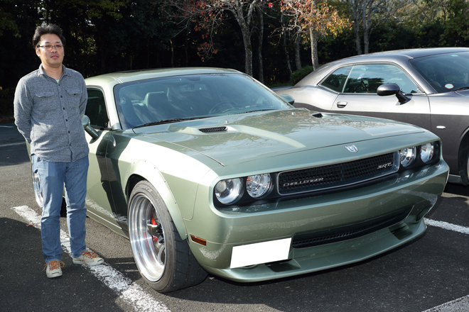長池亮治さん DODGE CHALLENGER SRT8