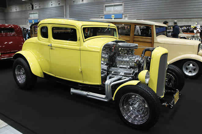 1932 Ford Model B 5w Coupe
