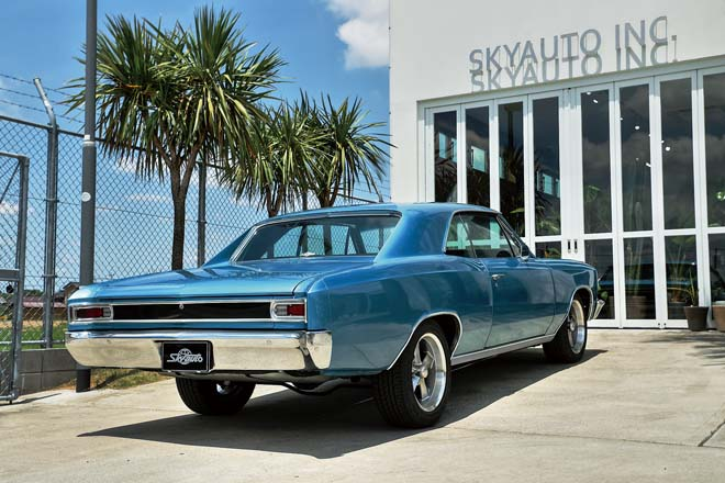1966y CHEVROLET CHEVELLE SS