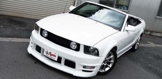 2008y FORD MUSTANG CONVERTIBLE、2008年 フォードマスタングコンバーチブル