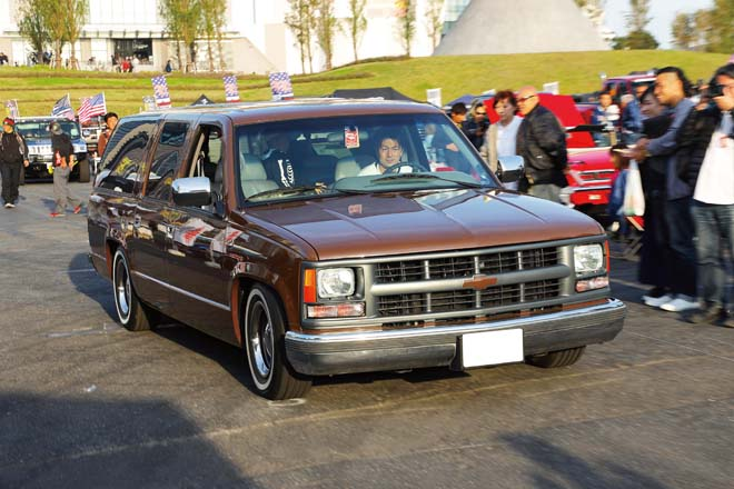 The Finest OVERALL WINNER CHEVROLET SUBURBAN 小田さん