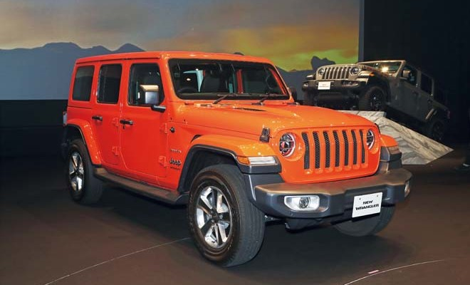 WRANGLER UNLIMITED SAHARA LAUNCH Edition