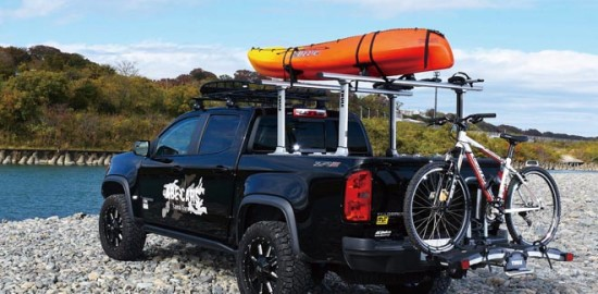 CHEVROLET COLORADO ZR2、THULE