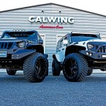 JEEP WRANGLER UNLIMITED CALWING / 213MOTORING、LA BAD WRANGLER CALIFORNIA MUDSTAR