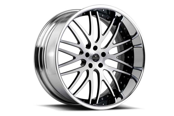 savini wheels sv25 brushed black