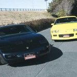 1992 CHEVROLET CAMARO RS & 1991 PONTIAC FIREBIRD TRANS AM GTA