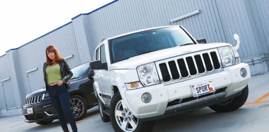 2008 Jeep Commander、2014 Jeep Grand Cherokee