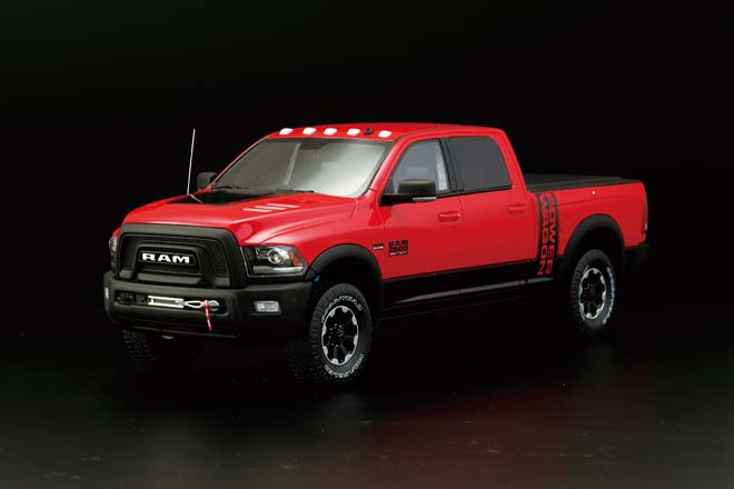 1/18 2017 RAM 2500 POWER WAGON