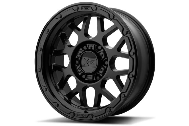 KMC XD135 GRENADE OFF-ROAD Matte Black