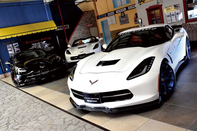 RK SPORT CARBON FIBER & GLASS FIBER BODY KIT FOR CORVETTE