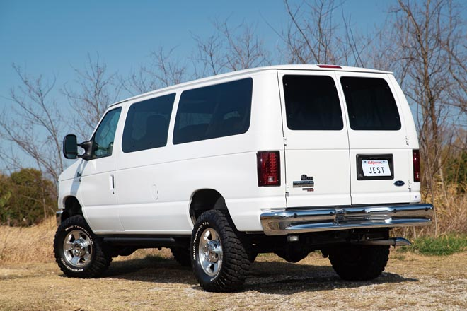 2009y FORD E350 XLT 4WD、2009 フォードE350 XLT 4WD