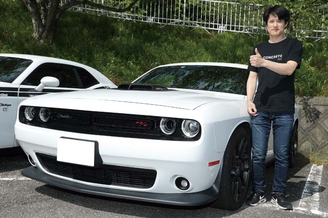 CHALLENGER SCATPACK SHAKER 山城定彦さん