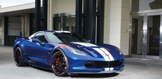 2017 CHEVROLET CORVETTE GRAND SPORT HERITAGE