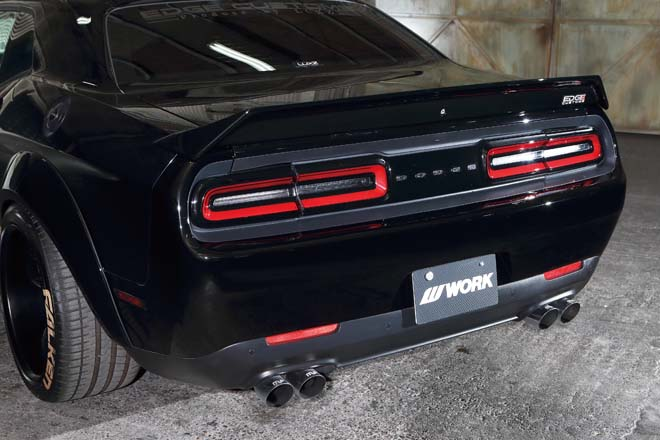EDGE CUSTOMS M LINE DODGE CHALLENGER