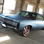 "1969 CHEVROLET IMPALA SS CONVERTIBLE On 22"" RENZO FORGED"
