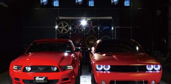 2013 DODGE CHALLENGER R/T 2014 FORD MUSTANG GT